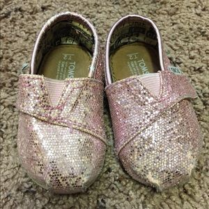 Other - Pink Sparkle Toms